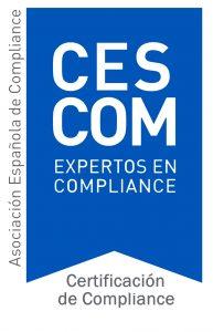 certificado compliance cescom