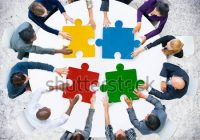Collaboration Université France puzzle